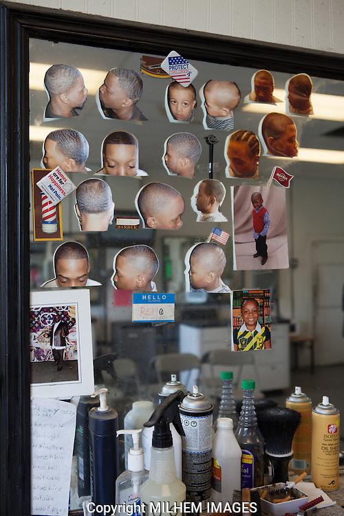 Black Bottom Cuts Barbershop on 3619-21 Chene Street, Detroit MI, 48207 north of Mack Avenue.