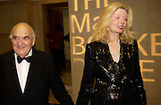 Lord and Lady Weidenfeld, The Man Booker prize awards ceremony 2004 . The Royal Horticultural Hall, 19 October 2004. ONE TIME USE ONLY - DO NOT ARCHIVE  © Copyright Photograph by Dafydd Jones 66 Stockwell Park Rd. London SW9 0DA Tel 020 7733 0108 www.dafjones.com