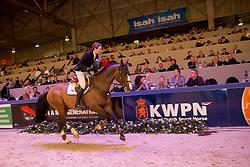Gilmartin James, (NED), Everto<br /> Springen Klasse Z-ZZ<br /> KWPN Hengstenkeuring - 's Hertogenbosch 2016<br /> © Hippo Foto - Dirk Caremans<br /> 04/02/16