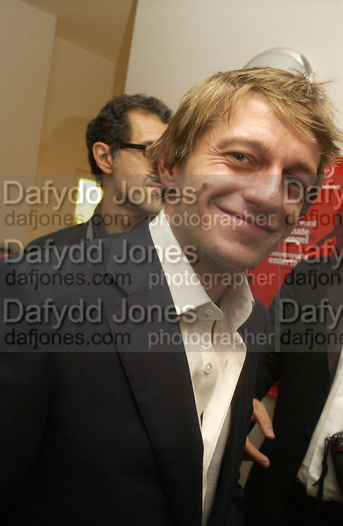 "Leo Gregory. aftershow party followlng the UK Premiere of ""Stoned,"" at Century on November 17, 2005 in London, England. 17 November 2005. ONE TIME USE ONLY - DO NOT ARCHIVE  © Copyright Photograph by Dafydd Jones 66 Stockwell Park Rd. London SW9 0DA Tel 020 7733 0108 www.dafjones.com"