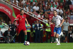 September 10, 2018 - Lisbon, Portugal - Portugal's forward Bernardo Silva in action during the UEFA Nations League A group 3 football match Portugal vs Italy at the Luz stadium in Lisbon, Portugal on September 10, 2018. (Credit Image: © Pedro Fiuza/ZUMA Wire)