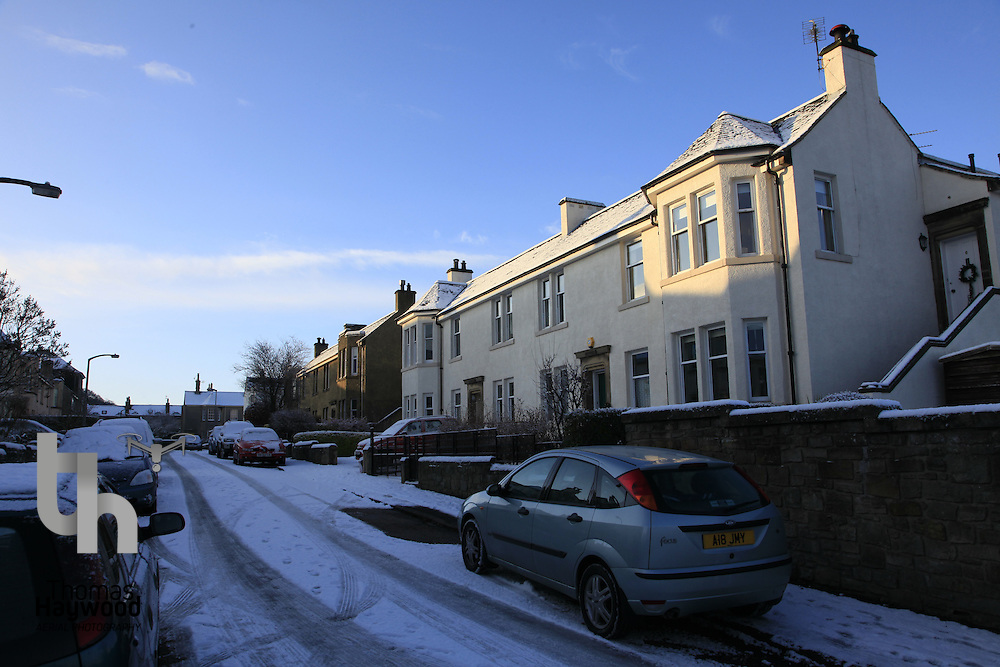 Edinburgh Winter in Polwarth, Craighouse and Craiglockhart 22-12-09