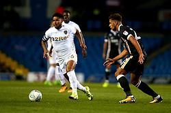 Liam Bridcutt of Leeds United goes past Lawrie Wilson of Port Vale - Mandatory by-line: Robbie Stephenson/JMP - 09/08/2017 - FOOTBALL - Elland Road - Leeds, England - Leeds United v Port Vale - Carabao Cup