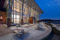 Architectural image of Prince Georges Community College Culinary Arts Center in Maryland By Jeffrey Sauers of Commercial Photographics