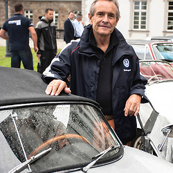 "Jacky Ickx participant at the ""Grandhotel Schloss Bensberg Rally""."