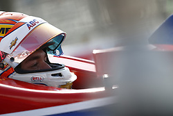 April 13, 2018 - Long Beach, California, United States of America - April 13, 2018 - Long Beach, California, USA: Matheus Leist (4) sits in his car on pit road during practice for the Toyota Grand Prix of Long Beach at Streets of Long Beach in Long Beach, California. (Credit Image: © Justin R. Noe Asp Inc/ASP via ZUMA Wire)