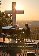 Jonathan Story sunset concert on Mt. Sequoyah fro the 75th Anniversary of the Cross.Jonathan Story sunset concert on Mt. Sequoyah fro the 75th Anniversary of the Cross.
