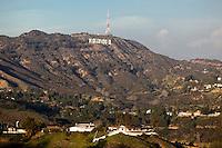 Hollywood Sign, Santa Monica Mountains National Recreation Area, California