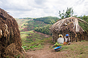The Rwamahano Batwa Pygmies have been relocated just outside their former Bwindi forest home as part of Ugandan government efforts in promoting eco-tourism to Westerners.