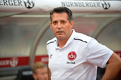 12.08.2016, Grundig Stadion, Nuernberg, GBR, 2. FBL, 1. FC Nuernberg vs 1. FC Heidenheim, 2. Runde, im Bild Trainer Alois Schwartz (1. FC Nuernberg) vor dem Spiel gegen den 1. FC Heidenheim 1846. // during the 2nd German Bundesliga 2nd round match between 1. FC Nuernberg and 1. FC Heidenheim at the Grundig Stadion in Nuernberg, Germany on 2016/08/12. EXPA Pictures © 2016, PhotoCredit: EXPA/ Eibner-Pressefoto/ Merz<br /> <br /> *****ATTENTION - OUT of GER*****