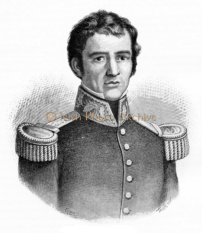 Guadalupe Victoria, born Jose Miguel Ramon Adaucto Fernandes y Felix (1786-1843) Mexican soldier, revolutionary and republican. Fought in the Mexican War of Independence (from Spain) 1824-1829. Supported Santa Anna. Became the first President of Mexico 1810-1821.
