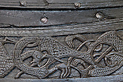Viking Ship detail, Oslo.