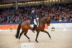 Verwimp Jorinde, BEL, Guardian S<br /> KWPN Stallionshow - 's Hertogenbosch 2018<br /> © Hippo Foto - Dirk Caremans<br /> 02/02/2018
