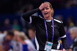 16-12-2018 FRA: Women European Handball Championships bronze medal match, Paris<br /> Romania - Netherlands 20-24, Netherlands takes the bronze medal / Coach Helle Thomsen of Netherlands
