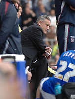Photo: Ashley Pickering.<br /> Ipswich Town v Cardiff City. Coca Cola Championship. 06/05/2007.<br /> Cardiff manager Dave Jones watches his side loose 3-1 to Ipswich