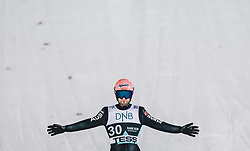 09.03.2020, Lysgards Schanze, Lillehammer, NOR, FIS Weltcup Skisprung, Raw Air, Lillehammer, Herren, im Bild Pius Paschke (GER) // Pius Paschke of Germany during men's 2nd Stage of the Raw Air Series of FIS Ski Jumping World Cup at the Lysgards Schanze in Lillehammer, Norway on 2020/03/09. EXPA Pictures © 2020, PhotoCredit: EXPA/ JFK