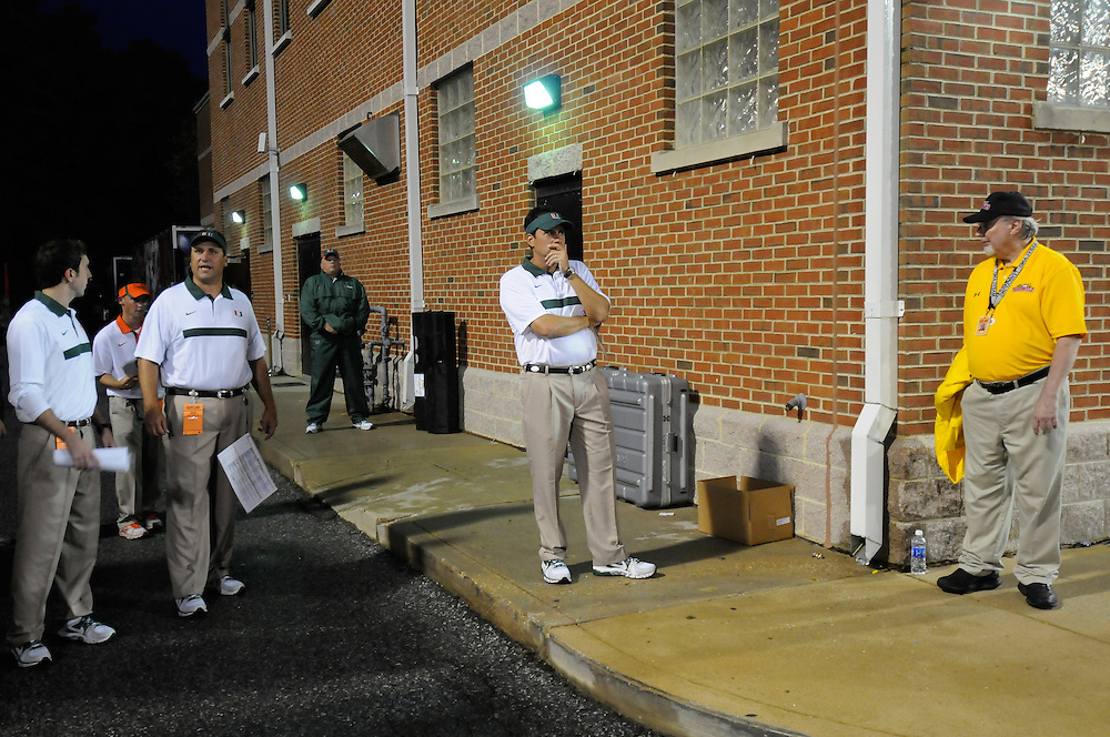 2011 Miami Hurricanes Football @ Maryland<br /> <br /> Jedd Fisch