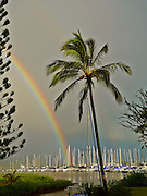 Rainbow, Kaneohe Bay, Oahu, Hawaii