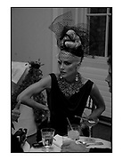 DAPHNE GUINNESS, Nicky Haslam party for Janet de Bottona nd to celebrate 25 years of his Design Company.  Parkstead House. Roehampton. London. 16 October 2008.  *** Local Caption *** -DO NOT ARCHIVE-© Copyright Photograph by Dafydd Jones. 248 Clapham Rd. London SW9 0PZ. Tel 0207 820 0771. www.dafjones.com.