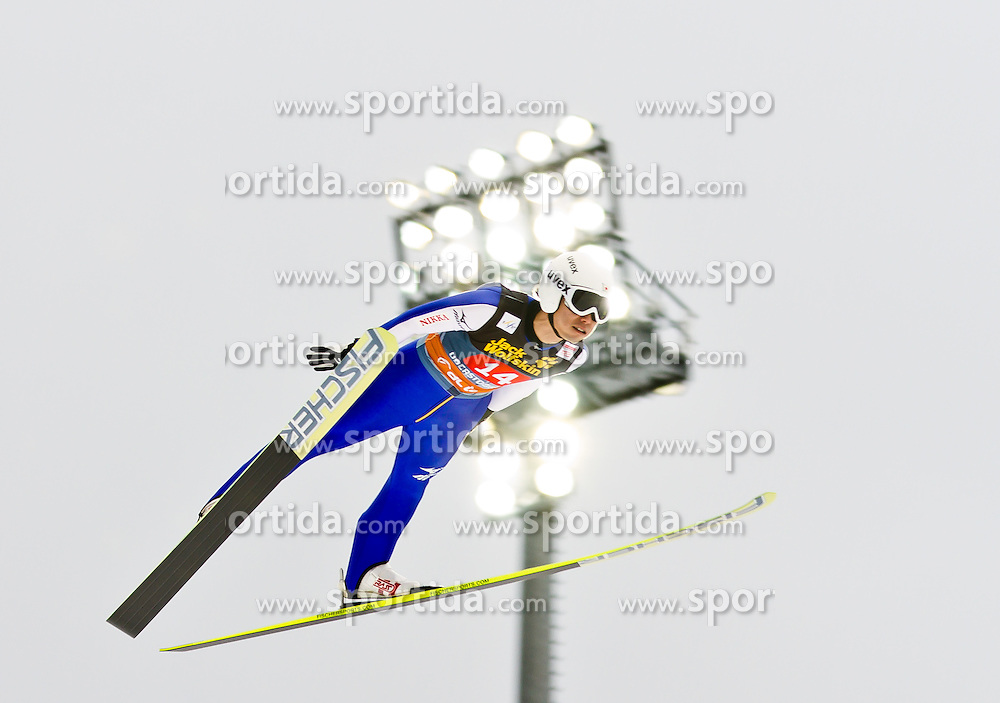 30.12.2011, Schattenbergschanze / Erdinger Arena, GER, Vierschanzentournee, FIS Weldcup, Probedurchgang, Ski Springen, im Bild Daiki Ito (JPN) // Daiki Ito of Japan during the trial round at 60th Four-Hills-Tournament, FIS World Cup in Oberstdorf, Germany on 2011/12/30. EXPA Pictures © 2011, PhotoCredit: EXPA/ P.Rinderer