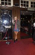 Denise van Outen, M.A.C. Aids fund benefit concert given by Elton John. Shepherds Bush Empire. 16 December 2002.<br />© Copyright Photograph by Dafydd Jones 66 Stockwell Park Rd. London SW9 0DA Tel 020 7733 0108 www.dafjones.com