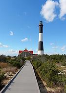 Babylon, NY,  October 25, 2016: --- The Fire Island Lighthouse.     © Audrey C. Tiernan