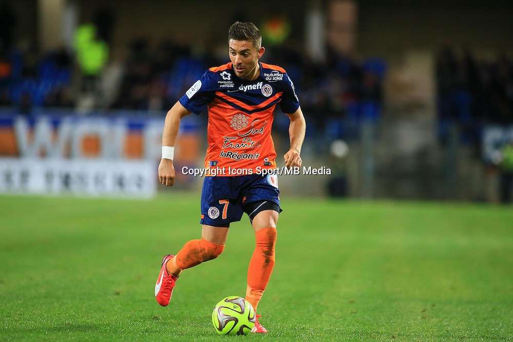 Anthony MOUNIER  - 24.01.2015 - Montpellier / Nantes  - 22eme journee de Ligue1<br />