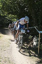 31/07/2010 MOUNTAIN BIKE UCI WORLD CUP, VAL DI SOLE, ITALY, 2010 .Julien ABSALON .© Photo Pierre Teyssot / Sportida.com.