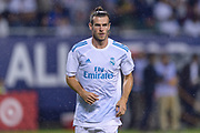 CHICAGO, IL - AUGUST 02: Real Madrid forward Gareth Bale (11) before a soccer match between the MLS All-Stars and Real Madrid on August 02, 2017, at Soldier Field in Chicago, IL. (Photo By Daniel Bartel/Icon Sportswire)