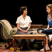 The Chalk Garden by Enid Bagnold;<br /> Directed by Alan Strachan;<br /> Emma Curtis (as Laurel);<br /> Amanda Root (as Miss Madrigal);<br /> Chichester Festival Theatre; Chichester;<br /> 30 May 2018.<br /> © Pete Jones<br /> pete@pjproductions.co.uk