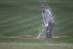 February 3, 2019 - Scottsdale, AZ, U.S. - SCOTTSDALE, AZ - FEBRUARY 03: Matt Kuchar hits out of the sand trap on the ninth hole at the final round of the Waste Management Phoenix Open on February 3, 2019, at TPC Scottsdale in Scottsdale, Arizona.  (Photo by Will Powers/Icon Sportswire) (Credit Image: © Will Powers/Icon SMI via ZUMA Press)