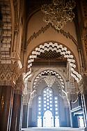 Casablanca Hassan II mosque Morocco North Africa