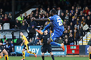 Karleigh Osborne of AFC Wimbledon during the Sky Bet League 2 match between Cambridge United and AFC Wimbledon at the R Costings Abbey Stadium, Cambridge, England on 2 January 2016. Photo by Stuart Butcher.