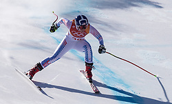 February 17, 2018 - PyeongChang, South Korea - BREEZY JOHNSON of USA during Alpine Skiing: Ladies Super-G at Jeongseon Alpine Centre at the 2018 Pyeongchang Winter Olympic Games. (Credit Image: © Patrice Lapointe via ZUMA Wire)