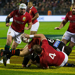 Alun Wyn Jones, Toll Stadium, Whangarei game 1 of the British and Irish Lions 2017 Tour of New Zealand,The match between Provincial Union Team and British and Irish Lions,Saturday 3rd June 2017   <br /> <br /> (Photo by Kevin Booth Steve Haag Sports)<br /> <br /> Images for social media must have consent from Steve Haag