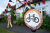 Tour de France in Finchingfield