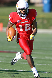 17 November 2012:  Tyrone Walker during an NCAA Missouri Valley Football Conference football game between the North Dakota State Bison and the Illinois State Redbirds at Hancock Stadium in Normal IL