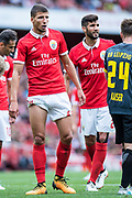 Ruben Dias (66) during the Emirates Cup 2017 match between Leipzig and Benfica at the Emirates Stadium, London, England on 30 July 2017. Photo by Sebastian Frej.