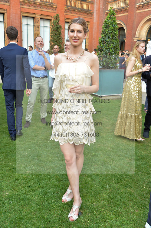 Susanna Warren at the V&A Summer Party 2017 held at the Victoria & Albert Museum, London England. 21 June 2017.
