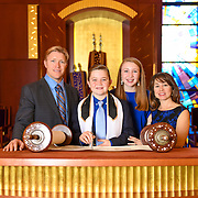 Ryan's Bar Mitzvah Temple Solel Encinitas 2016