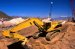 Construction Engineers, Operators, Workers, Heavy Equipment Power Plants