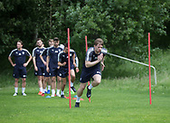 Dundee&rsquo;s Craig Wighton during the warm up - Dundee FC pre-season training at Michelin Grounds, Dundee, Photo: David Young<br /> <br />  - &copy; David Young - www.davidyoungphoto.co.uk - email: davidyoungphoto@gmail.com