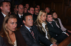 BRUSSELS, BELGIUM - NOV-9-2004 - Belgian Court of Appeals decision in the trial against the Flemish extreme right political party Vlaams Blok. (PHOTO © JOCK FISTICK)..Mary-Rose Morel - Frank Vanhecke - Anke Vandermeersch - Filip Dewinter<br />