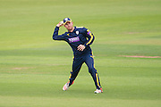 Liam Dawson of Hampshire during the Royal London One Day Cup match between Hampshire County Cricket Club and Somerset County Cricket Club at the Ageas Bowl, Southampton, United Kingdom on 2 August 2016. Photo by David Vokes.