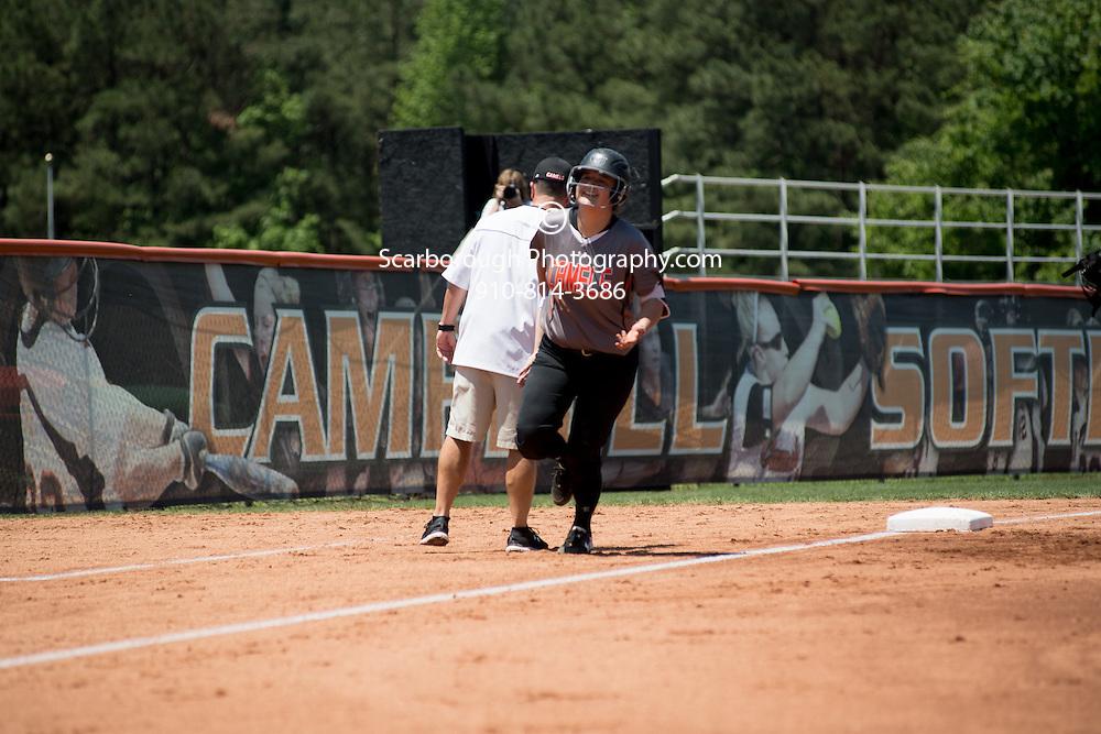 BUIES CREEK, NC - May 7th, 2016 Campbell University Softball vs Radford