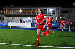 Bristol United captain Jack Tovey leads his side out - Mandatory by-line: Ken Sutton/JMP - 15/12/2017 - RUGBY - Donnybrook Stadium - Dublin,  - Leinster 'A' v Bristol United -