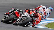 Chaz Davies comes 3rd in race 1,  Aruba.it Racing-Ducati Superbike Team, Ducati Panigale R,<br /> Philip Island, Australia, 03.03.2015 FIM World Superbike Championship - Honorarpflichtiges Bild, Motorrad WSBK -<br /> fee liable image, copyright © ATP / Damir IVKA