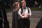 VERONICA DRYSDALE; SAM ELLIS THE 35TH WHITE KNIGHTS BALLIN AID OF THE ORDER OF MALTA VOLUNTEERS' WORK WITH ADULTS AND CHILDREN WITH DISABILITIES AND ILLNESS. The Great Room, Grosvenor House Hotel, Park Lane W1. 11 January 2014