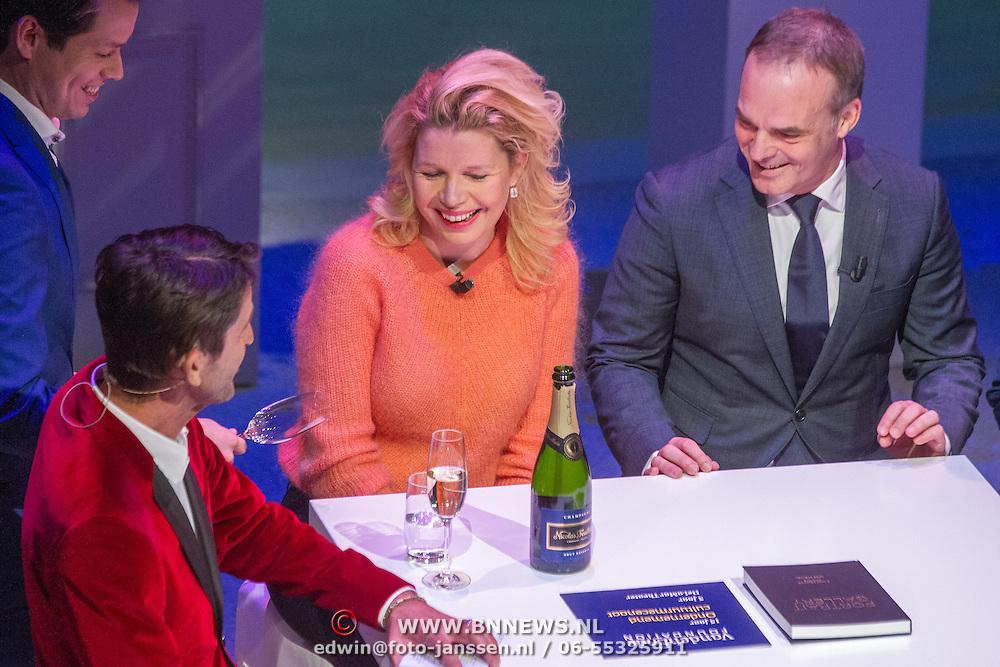 NLD/Amsterdam/20151123 - 5 jaar Delamar theater en 10 Jaar Van den Ende Foundation viering, Tjitske redinga en ..............