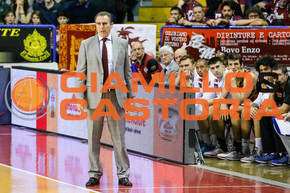 DESCRIZIONE : Venezia Lega A 2015-16 Umana Reyer Venezia Dolomiti Energia Trentino<br /> GIOCATORE : Carlo Recalcati<br /> CATEGORIA : Ritratto<br /> SQUADRA : Umana Reyer Venezia Dolomiti Energia Trentino<br /> EVENTO : Campionato Lega A 2015-2016<br /> GARA : Umana Reyer Venezia Dolomiti Energia Trentino<br /> DATA : 28/12/2015<br /> SPORT : Pallacanestro <br /> AUTORE : Agenzia Ciamillo-Castoria/G. Contessa<br /> Galleria : Lega Basket A 2015-2016 <br /> Fotonotizia : Venezia Lega A 2015-16 Umana Reyer Venezia Dolomiti Energia Trentino